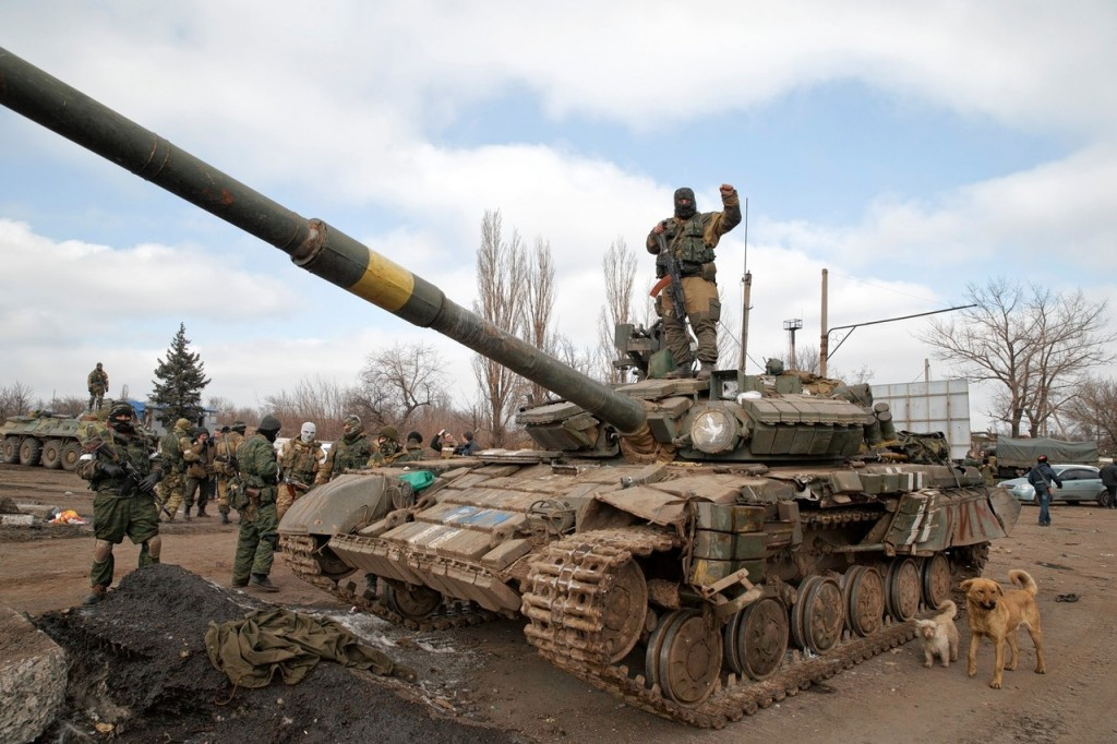 DEBALTSEVE RUSSIA MILITARY IN UKRAINE
