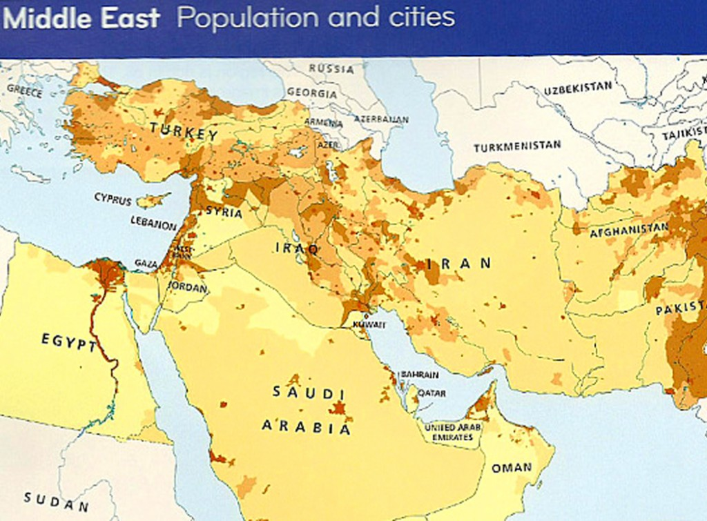ISRAEL NOT ON THE MAP OF HARPER COLLINS
