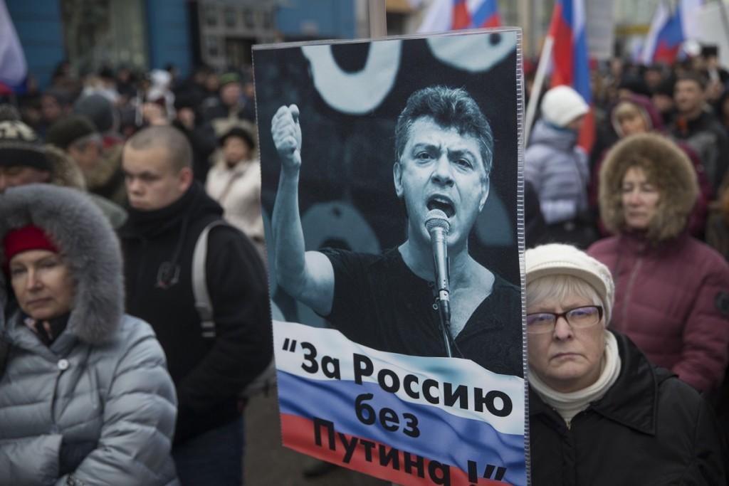 NEMTSOV PROTEST 2016