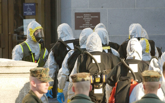 RICIN ANTHRAX LETTERS EXAMINER