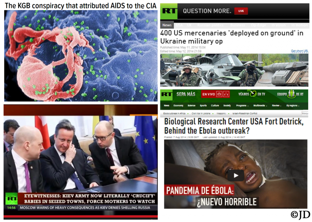 RUSSIAN PROPAGANDA EXAMINER EBOLA AND AIDS